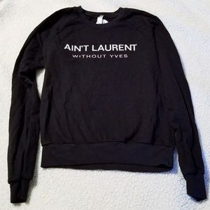 Tops - ❌SOLD Ain't Laurent without Yves sweater